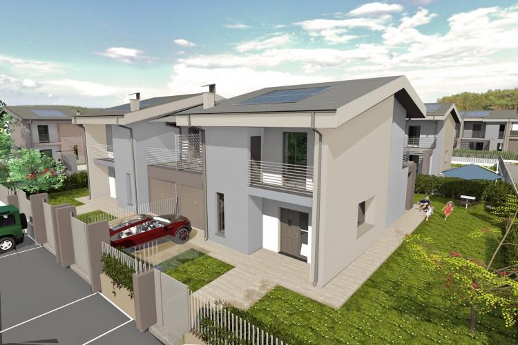 Villa bifamiliare di prossima realizzazione antica cherasco for Villa moderna progetto